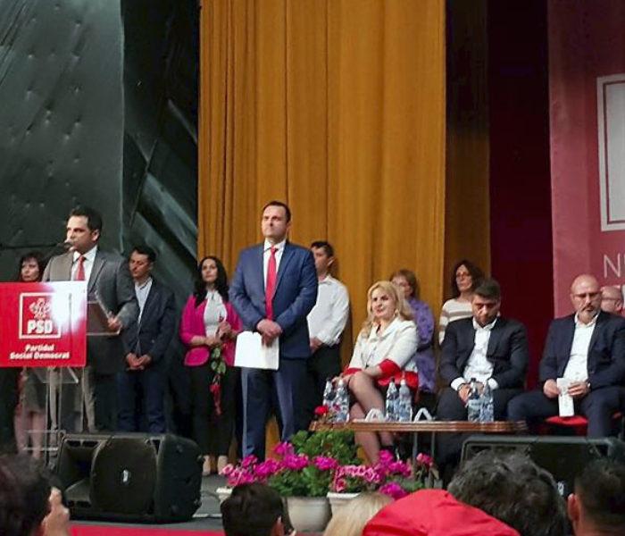 Târgoviște: Fostul candidat PNL Ciprian Prisăcaru a intrat în PSD