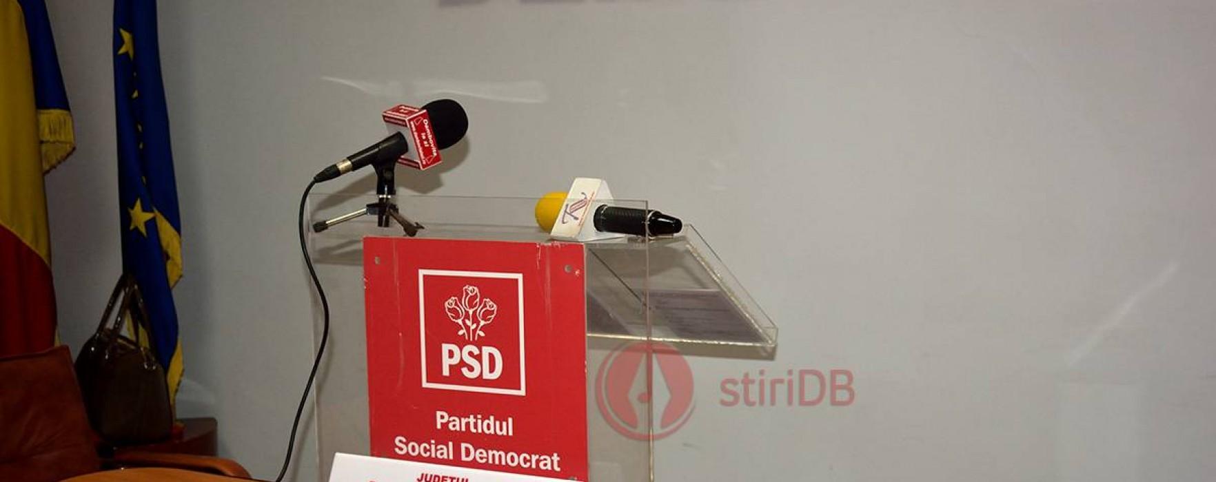 PSD Dâmboviţa anunţă noi alegeri în organizaţia judeţeană pe 4 octombrie