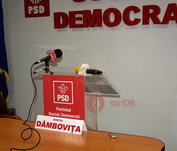 Organizaţia judeţeană a PSD Dmboviţa îşi arată, printr-o scrisoare deschisă, susţinerea pentru Adrian Ţuţuianu