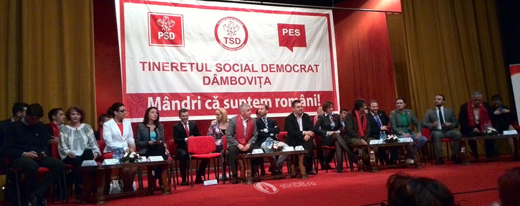 Miting electoral organizat de organizaţia de tineret a PSD Dâmboviţa