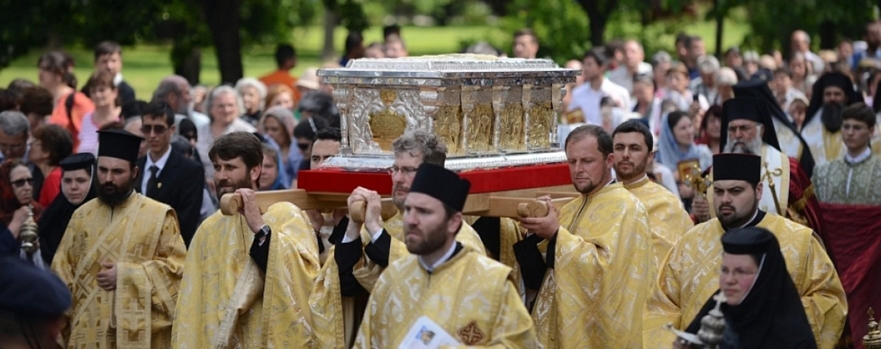 Pelerinaj la moaştele lui Constantin Brâncoveanu, la Potlogi pe 9 iunie