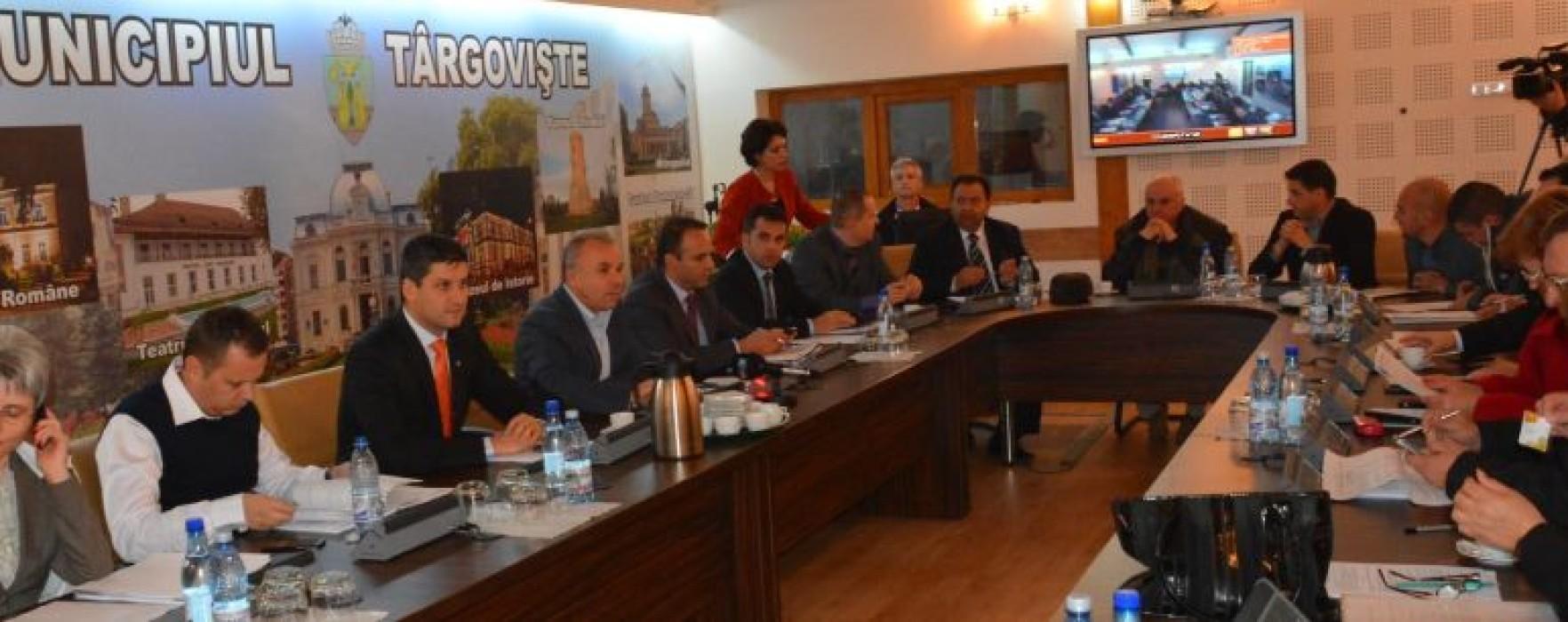 Consilierii locali din Târgovişte au aprobat bugetul pe 2014