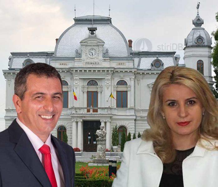 Târgovişte: Au fost aleşi noii viceprimari ai municipiului, Monica Ilie şi Cătălin Rădulescu