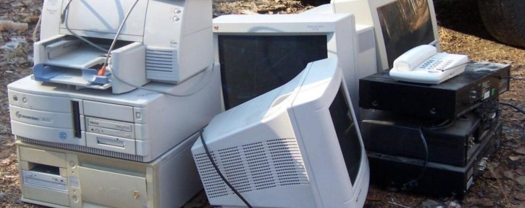 Acţiune de colectare de deşeuri electrice și electronice la Târgovişte