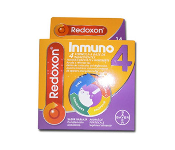 Farmaciile Hyperici recomandă Redoxon Inmuno 4, pentru sistemul imunitar