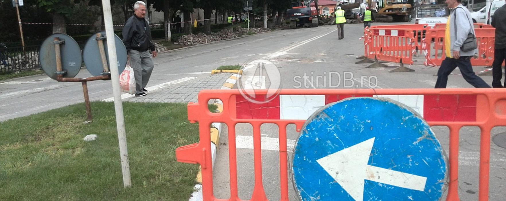 Restricţii de circulaţie în Târgovişte; vezi care sunt străzile