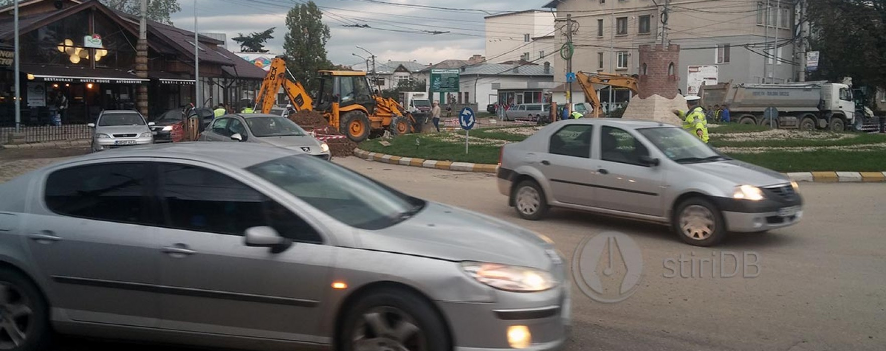 Târgovişte: Circulaţie blocată, sâmbătă, pentru asfaltare în sensul giratoriu de la intersecţia T. Vladimirescu, Băltăreţu şi I.C. Brătianu