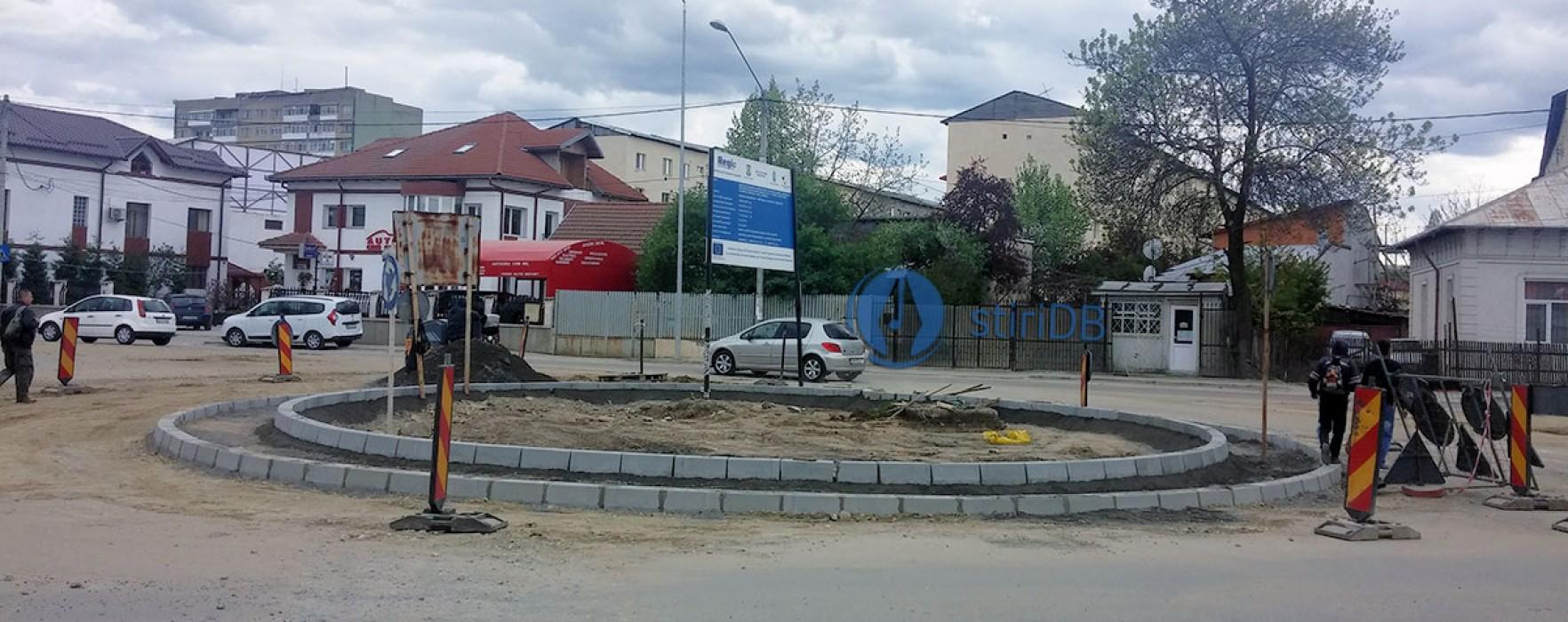Nou sens giratoriu în Târgovişte