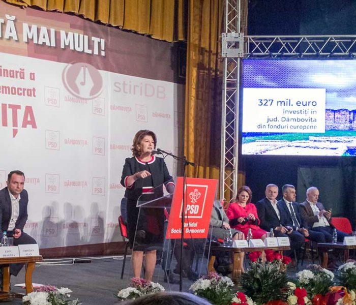 Dâmboviţa: Rovana Plumb anunţă că 5 primari PNL au trecut la PSD; PNL, nicio reacţie