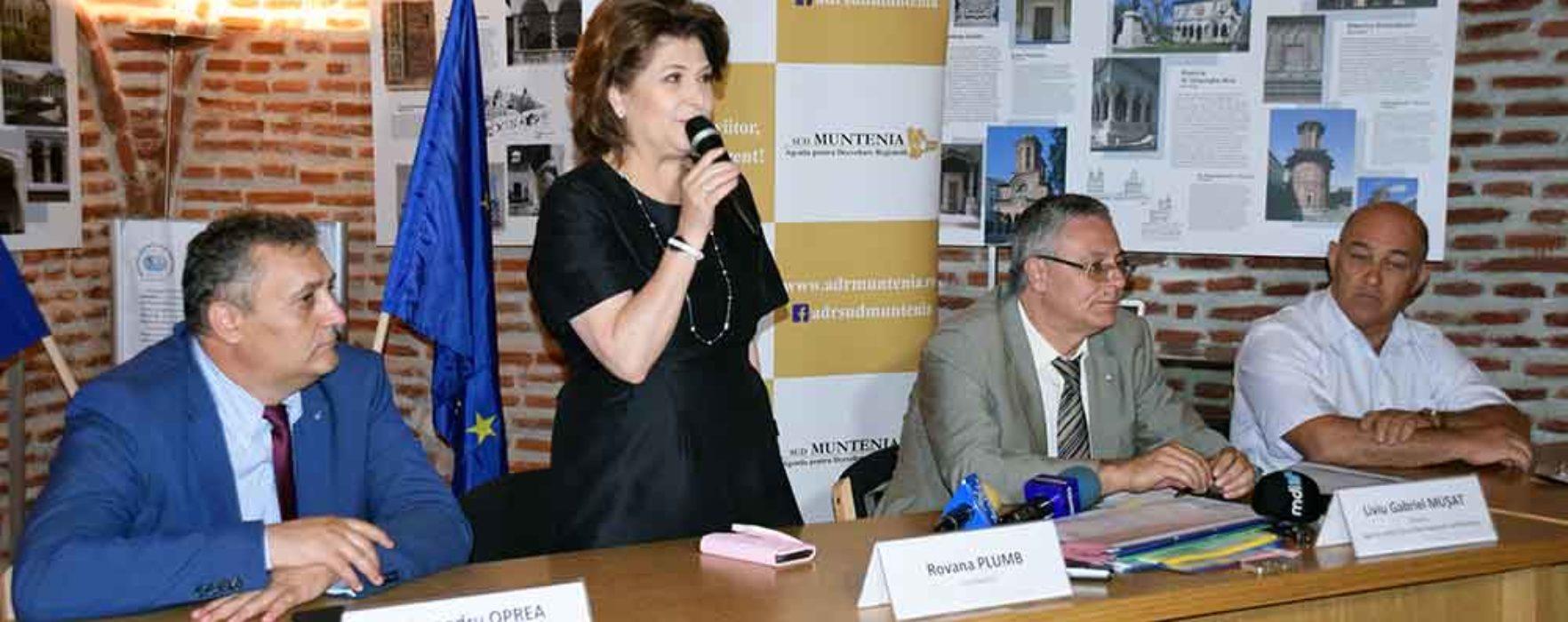 Dâmboviţa: Cinci proiecte cu fonduri EU semnate, investiţiile vor fi în Moreni, Nucet, Vişina, Bezdead şi Răcari