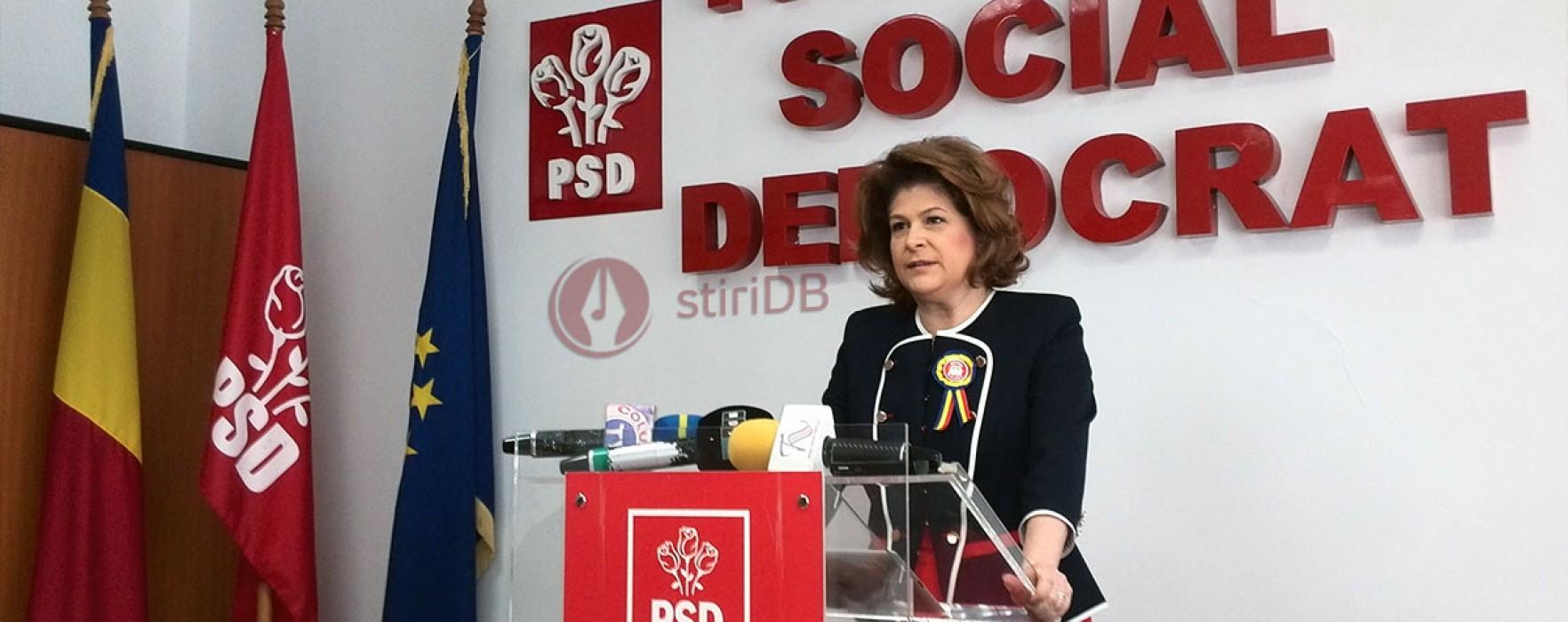 Rovana Plumb: Nu mai candidez pentru șefia Consiliului Național al PSD