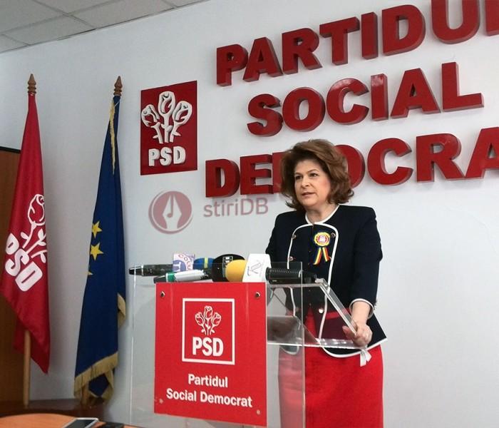 Rovana Plumb: Mi-am depus mandatul, iar colegii m-au reconfirmat în funcţia de preşedintă a PSD Dâmboviţa