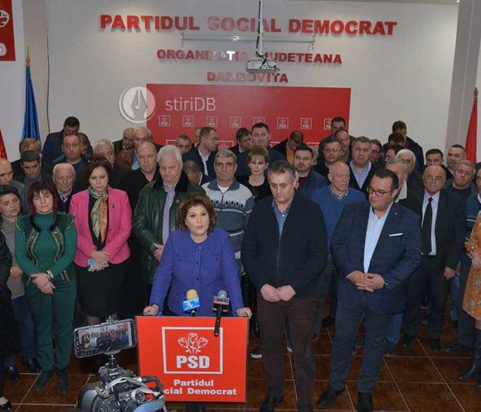 Rovana Plumb: Mi-am depus candidatura pentru preşedinţia PSD Dâmboviţa, organizaţia are nevoie de stabilitate