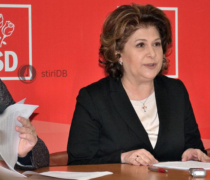 Rovana Plumb şi-a anunţat candidatura pentru un nou mandat la preşedinţia PSD Dâmboviţa