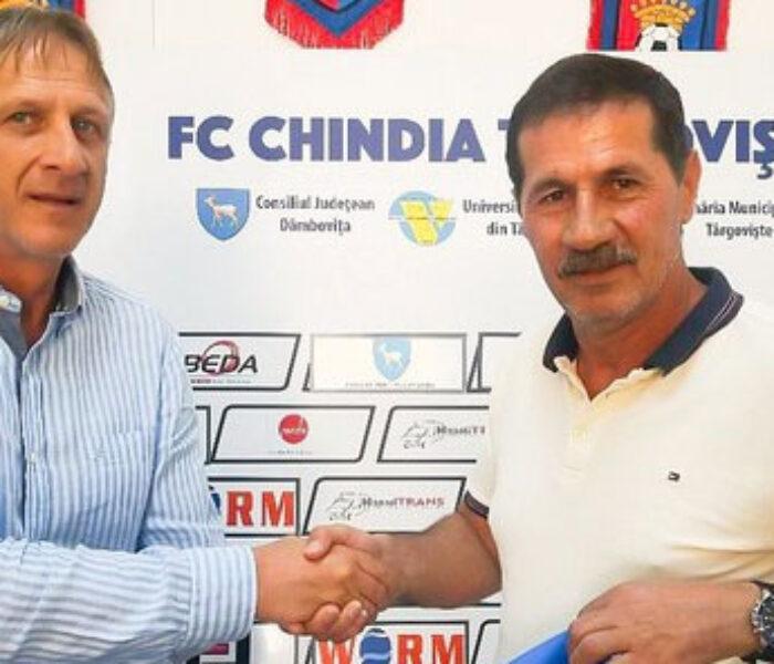 Fotbal: Emil Săndoi, noul antrenor al echipei Chindia Târgovişte