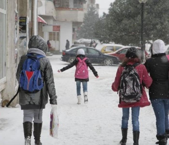 Autorităţile din Dâmboviţa vor decide duminică dacă se vor închide şcolile