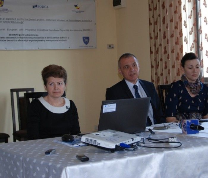 Eficientizarea administraţiei publice locale din Dâmboviţa, proiect cu fonduri europene