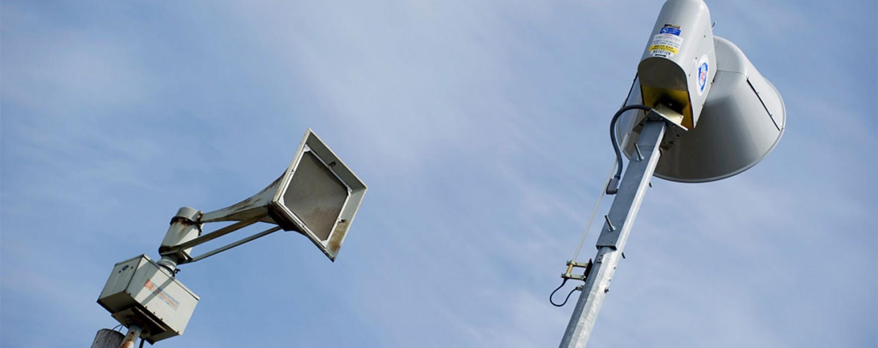 Dâmboviţa: Alarmele sună miercuri; este un exerciţiu de protecţie civilă