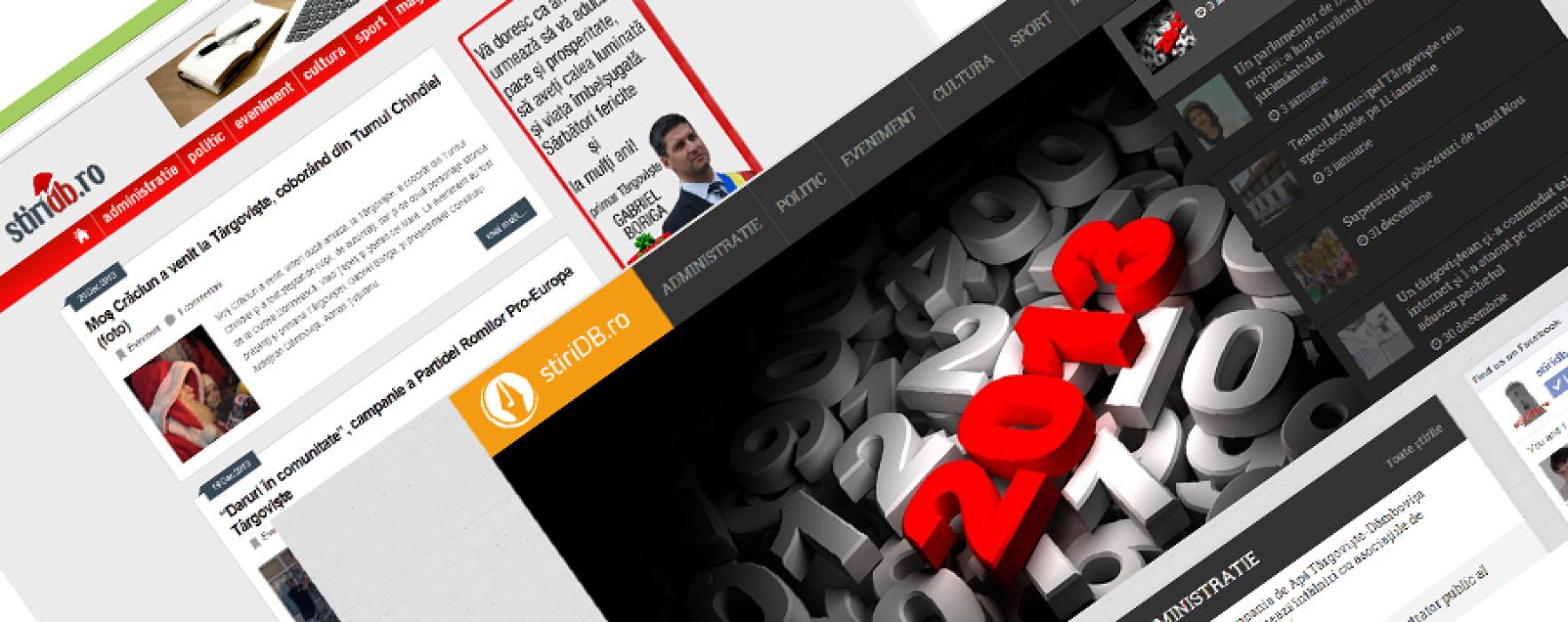 stiridb.ro, o nouă identitate vizuală din 2014