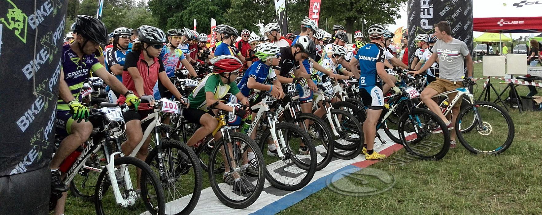 Concurs de ciclism la Zimbrăria Neagra Bucşani (foto)