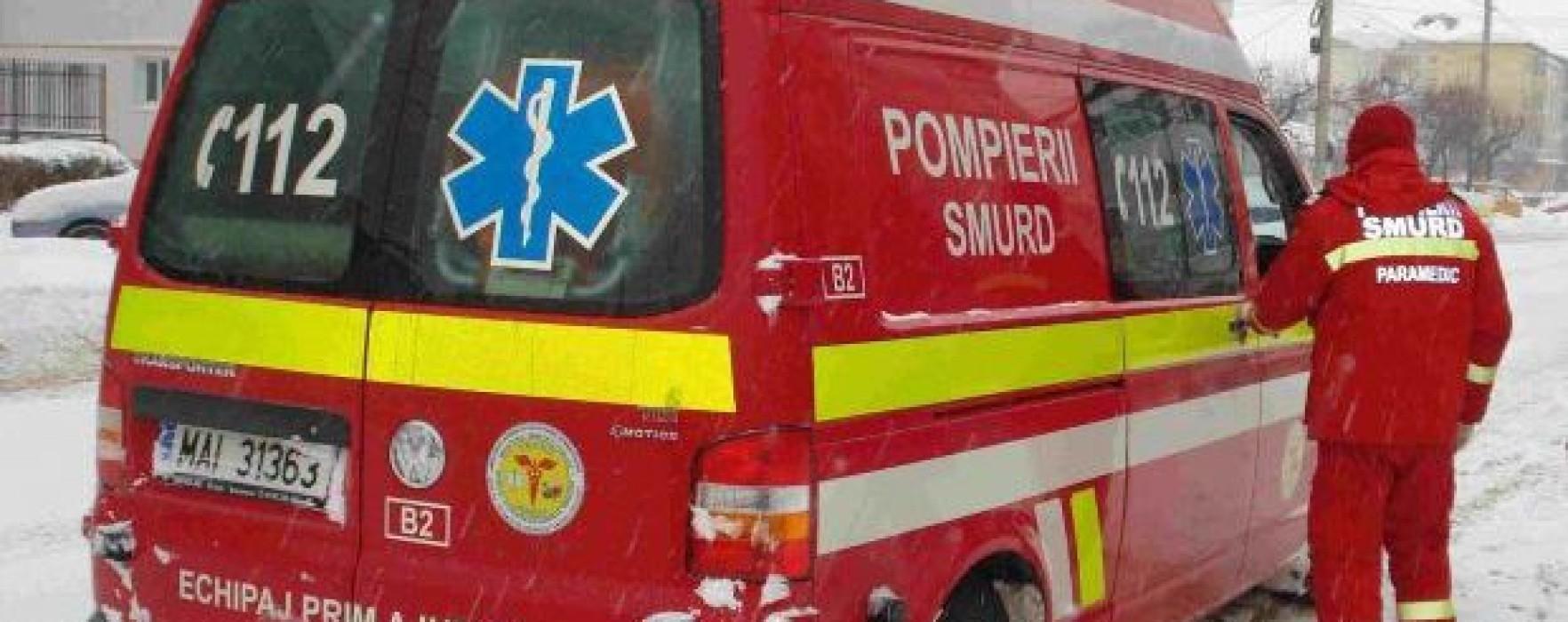 Echipaje SMURD din Dâmboviţa trimise la accidentul de pe A1