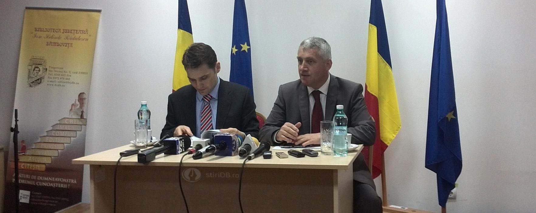 Ministrul Transporturilor, Dan Şova, efectuează miercuri o vizită în Dâmboviţa