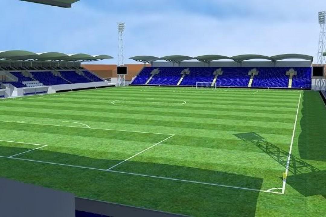 Stadionul ce se va construi la Târgovişte în zona mallului este în stadiul de începere a proiectării