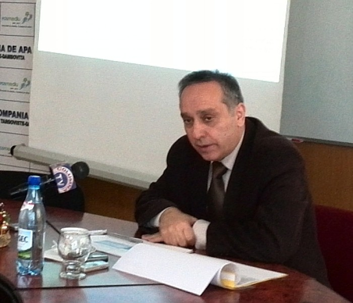 Directorul Companiei de Apă, Dorin Staicu, a demisionat