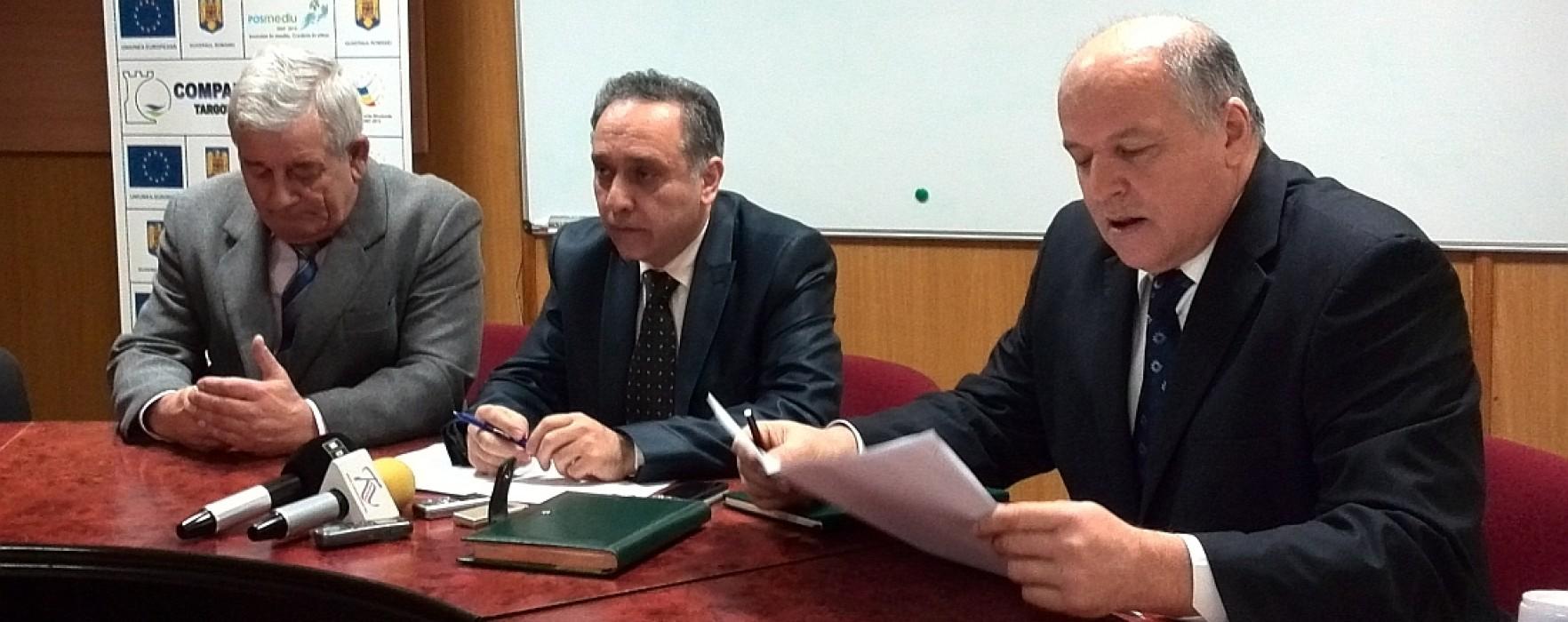 Lucrările la proiectul european de modernizare sistem de apă în Dâmboviţa, întârziate de intrarea în faliment a unor firme
