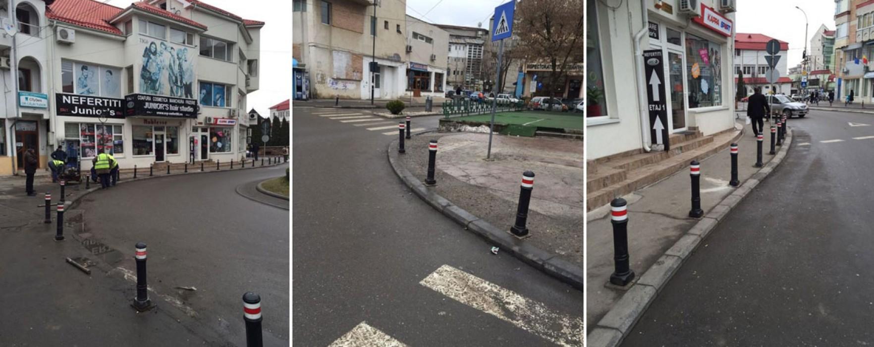 Târgovişte: De luni gata cu parcările ilegale pe Centrul Vechi!