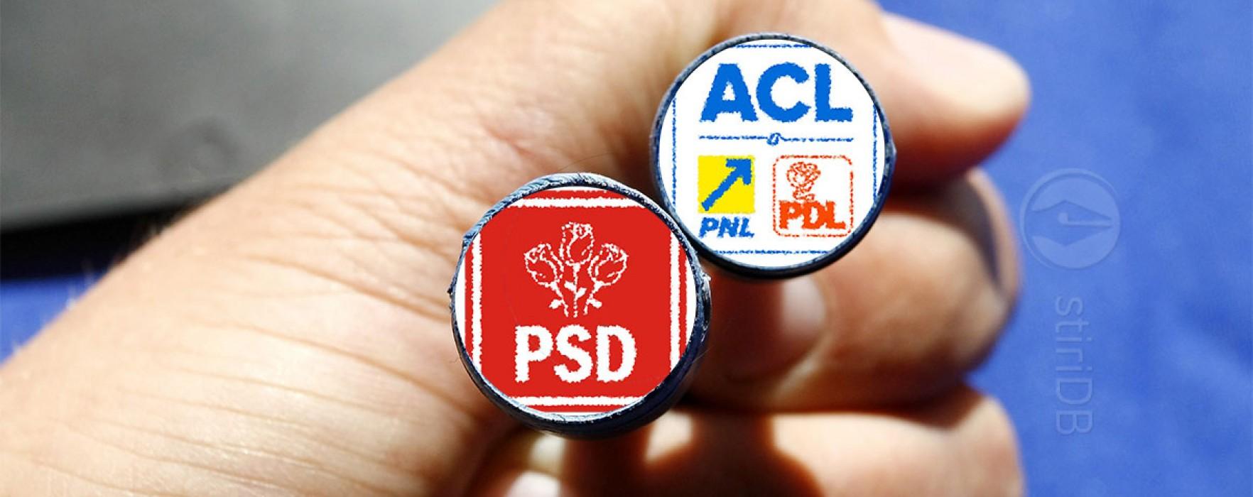 Dâmboviţa: Războiul comunicatelor PSD- ACL