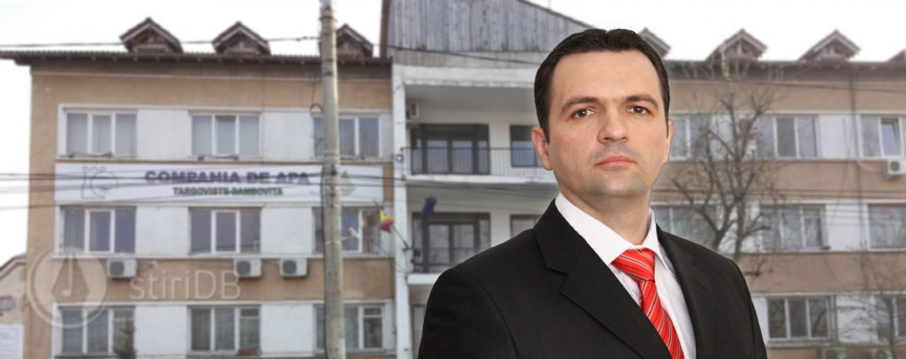 Primarul Târgoviştei: Cer demisia conducerii companiei de apă; sunt corecţii de sute de miliarde lei vechi