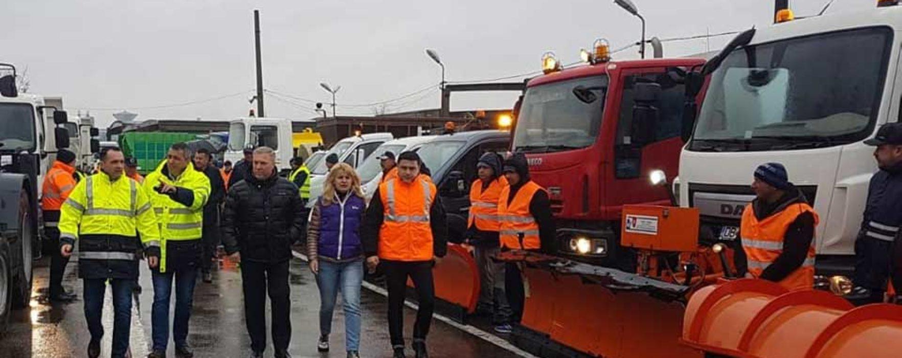Primăria Târgovişte anunţă că autorităţile sunt pregătite pentru venirea iernii