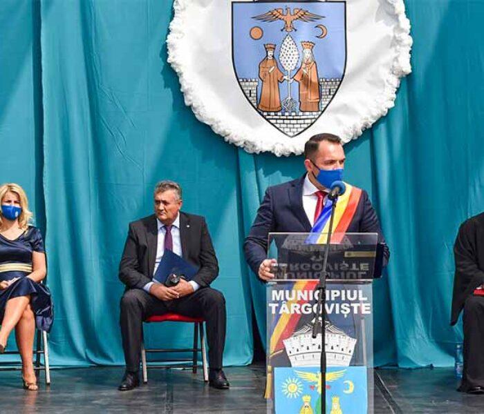 Primarul Cristian Stan: La mulţi ani, târgovişteni! La mulţi ani celor pentru care Târgovişte înseamnă acasă!