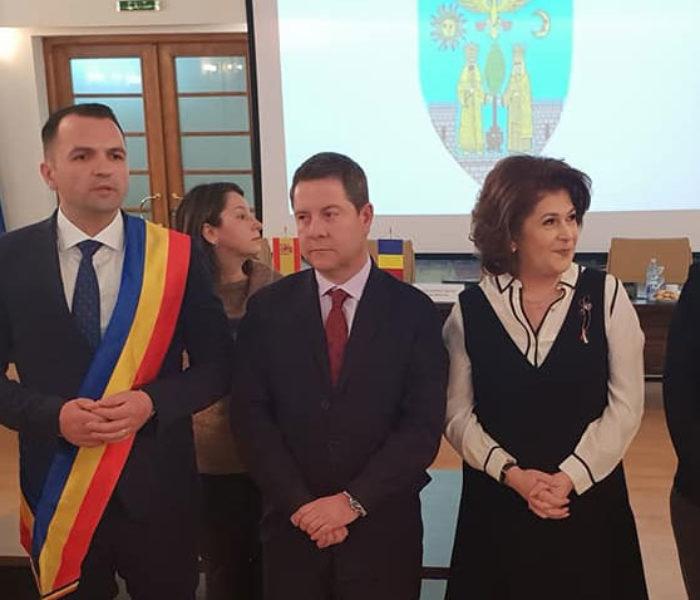 Oficiali ai Guvernului Regional din Castilla-La Mancha, Spania, în vizită la Primăria Târgovişte