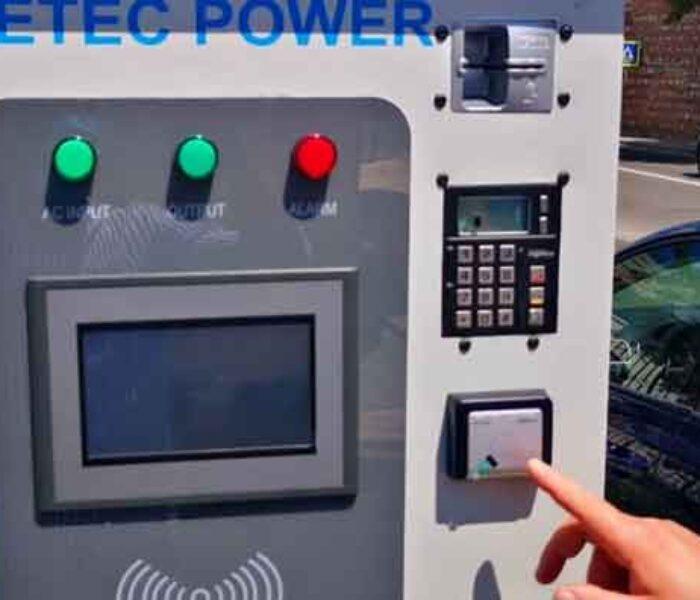 Primăria Târgovişte: A început montarea celor patru staţii de încărcare a vehiculelor electrice
