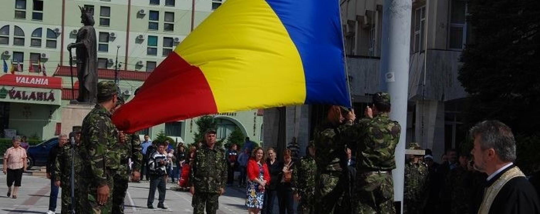 Ziua Drapelului, sărbătorită la Târgovişte