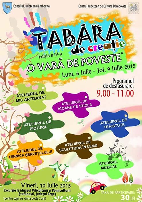 tabara-creatie