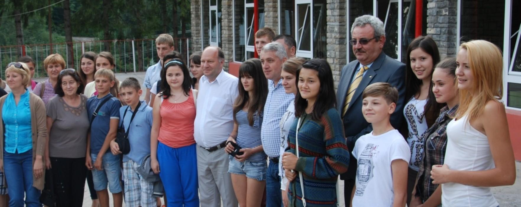 Copii din Republica Moldova, în tabără la Căprioara