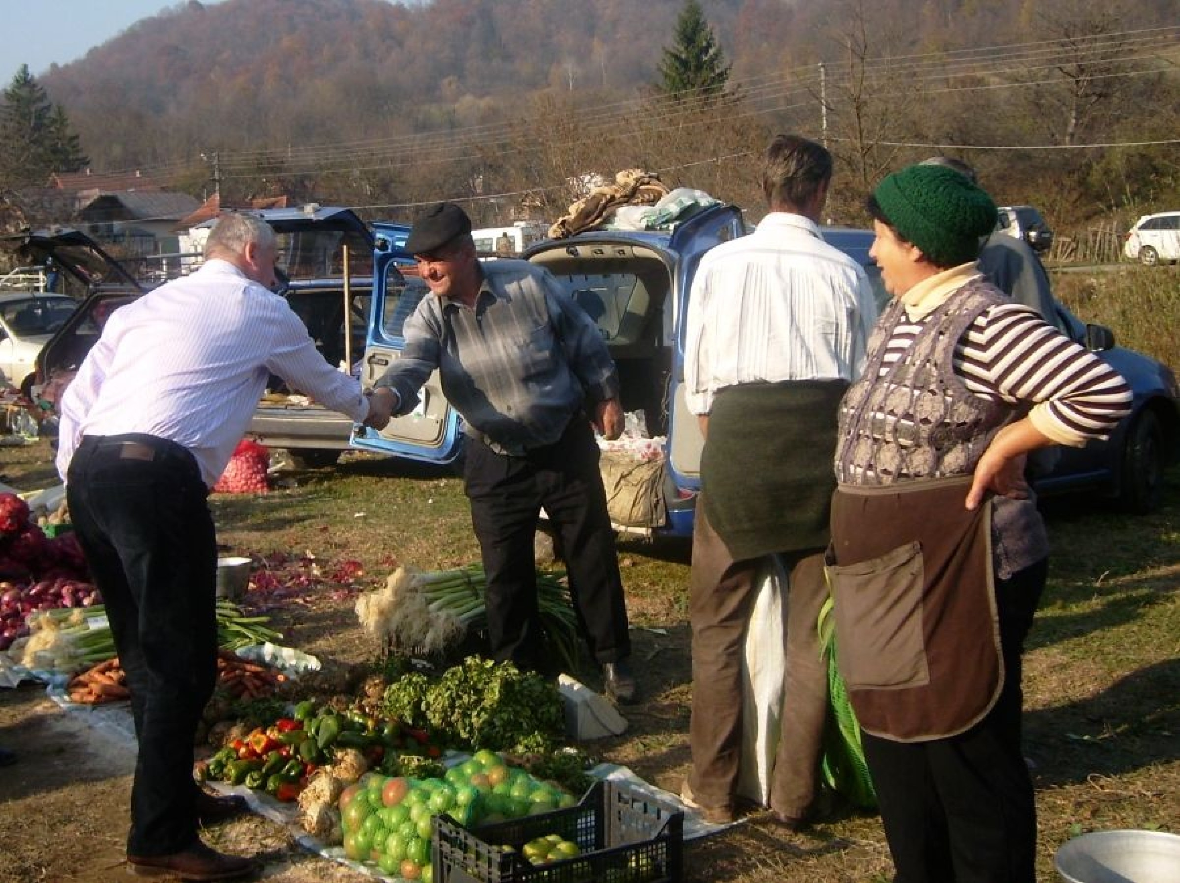 Târg de Sf. Dumitru, la Vişineşti (foto)