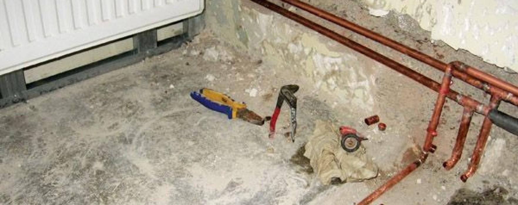O parte din instalaţia de încălzire ce urma să fie montată la o şcoală din Târgovişte a fost furată