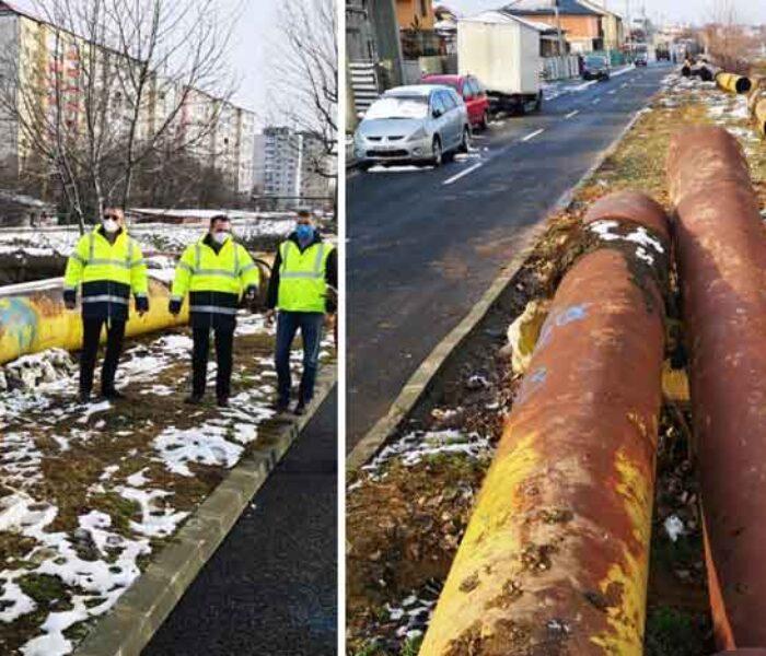 Târgovişte: A început dezafectarea fostelor reţele de termoficare