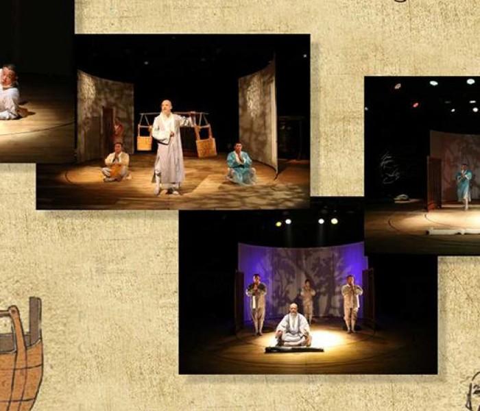 """Spectacol invitat """"Three Monks"""" al Teatrului Naţional pentru Copii din Shanghai, la Târgovişte"""