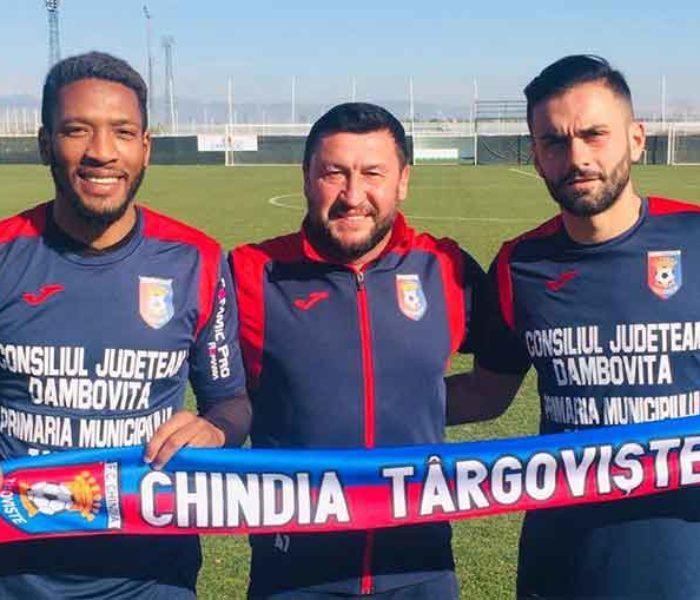 Fotbal: Chindia Târgovişte i-a transferat pe Bradley Diallo şi Valmir Berisha