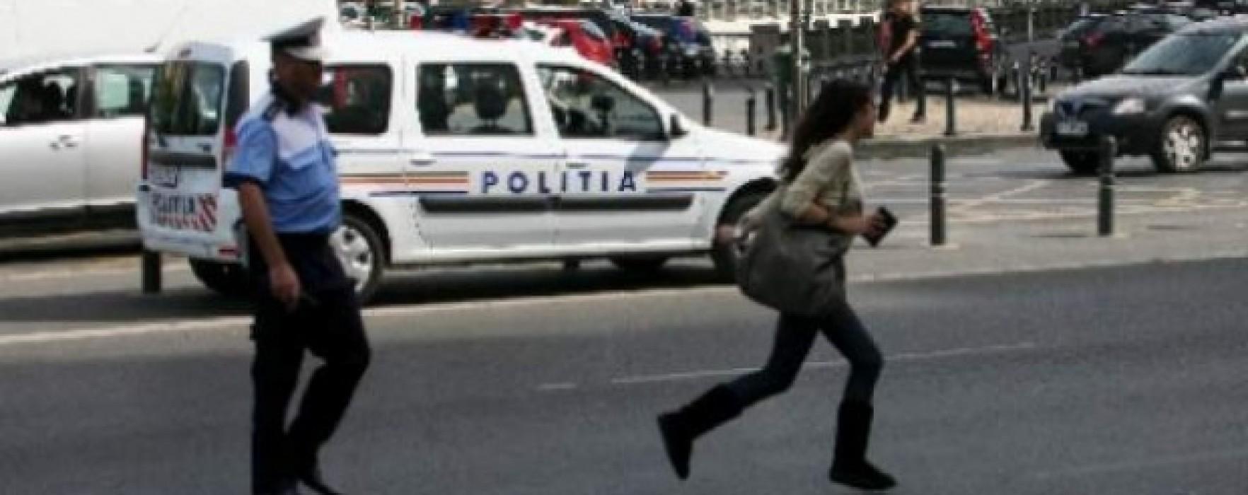 Dâmboviţa: Zeci de pietoni amendaţi pentru traversare prin loc nepermis