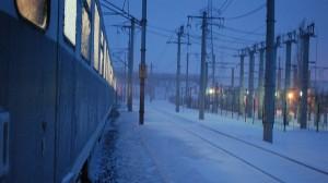 tren noapte zapada