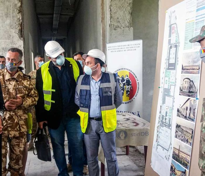 Negocierea unei axe de finanţare europeană, sprijinul anunţat de guvern pentru Centrul de recuperare a militarilor de la Mănăstirea Dealu