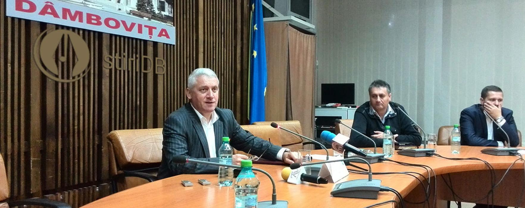 Dâmboviţa: Rectificarea bugetară, adoptată; Ţuţuianu spune ce s-a negociat (video)
