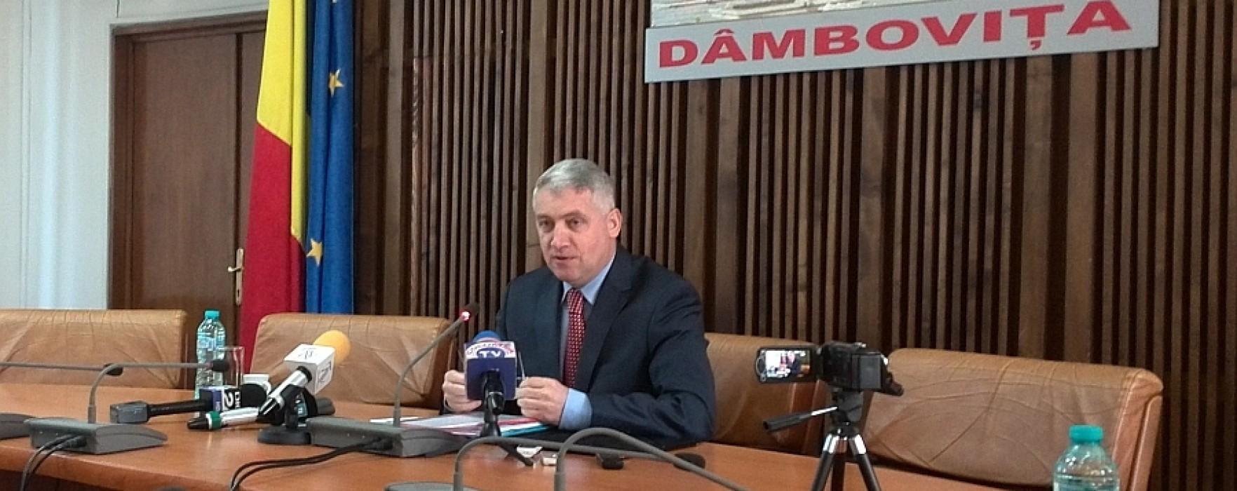 Adrian Ţuţuianu: Consilierii PSD nu vor participa la şedinţa CJ Dâmboviţa convocată de PNL