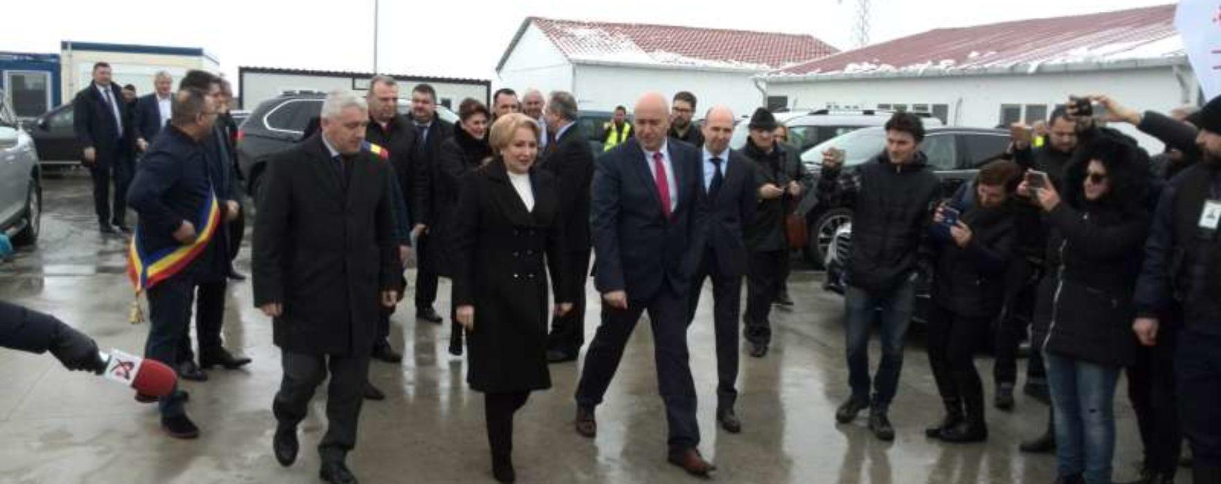 Viorica Dăncilă, la Târgovişte: Voi lucra cu miniştrii pentru soluţii ca România să devină un loc din ce în ce mai atractiv pentru investiţii